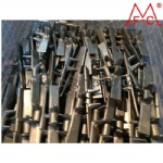 forged iron core of rubber tracks