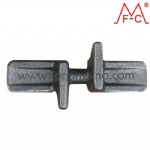 forged metal link of rubber tracks