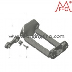 Track parts for Steel OTT Cross hard bar tracks